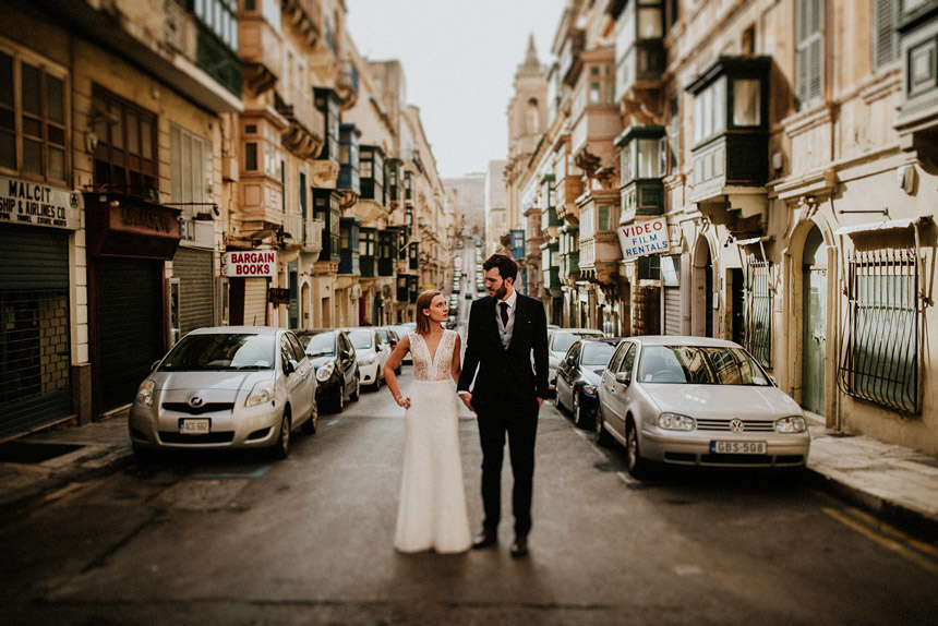 Malta Wedding Session